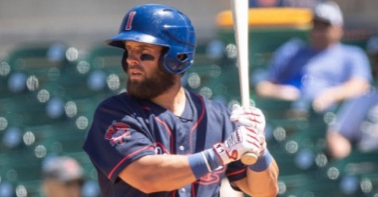 Martini stays hot in the I-Cubs win (Photo via Iowa Cubs)