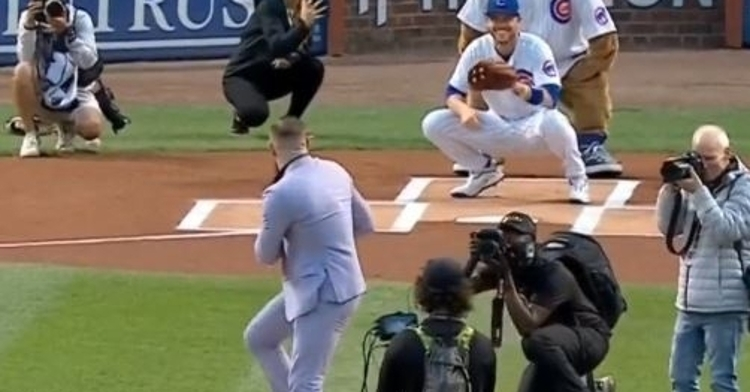McGregor with a pitch just a little bit outside