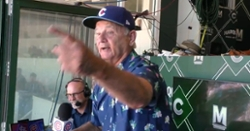 WATCH: Bill Murray's epic performance of 'Take Me Out to the Ball Game'
