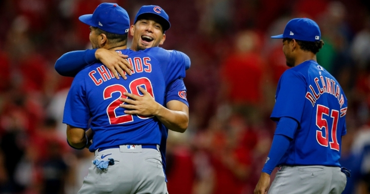 The Cubs finally got a win (Meg Vogel -  USA Today Sports)