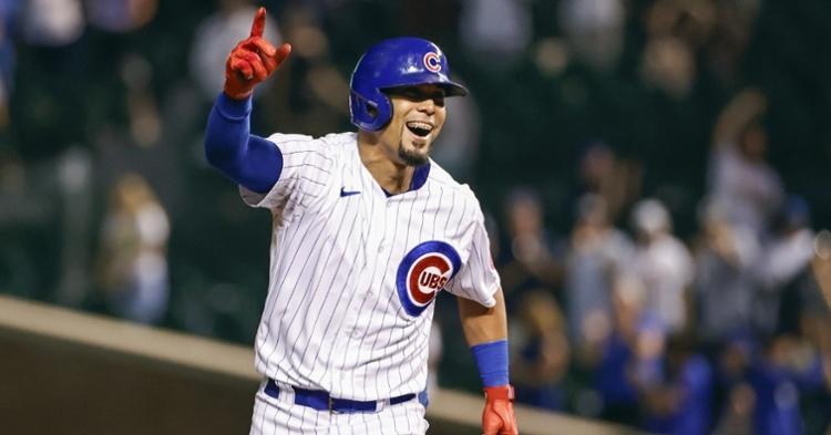Ortega was happy after his walk-off blast (Kamil Krzaczynski - USA Today Sports)