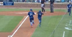 WATCH: Joc Pederson blisters pitch for hard-hit leadoff dinger
