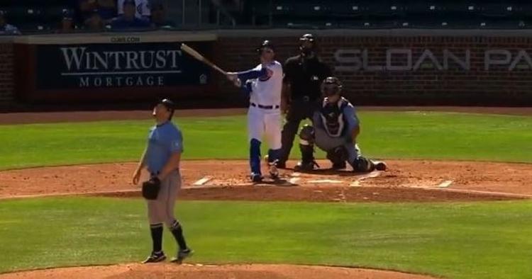 Pederson had a no-doubter homer run on Wednesday
