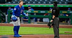 Cubs drubbed by Pirates on rainy night in Steel City