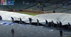 Rain delay halts Cubs' clash with Phillies in second inning