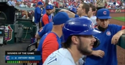 WATCH: Anthony Rizzo offers to trade baseball to fan in exchange for nachos