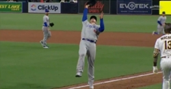 WATCH: Anthony Rizzo drops popup, gets taunted by Manny Machado