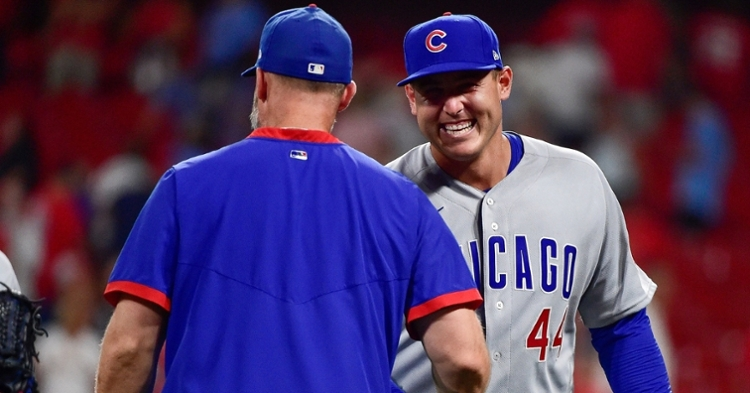 Rizzo was all smiles after the comeback win (Jeff Curry - USA Today Sports)