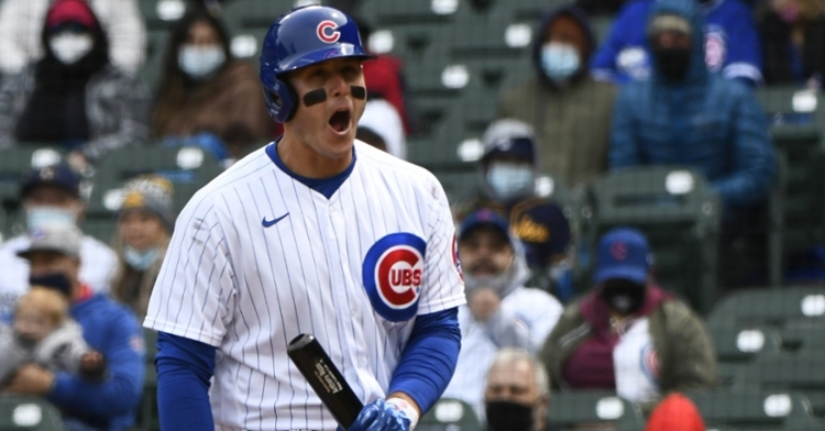 Rizzo had a few strikeouts against Woodruff (Matt Marton - USA Today Sports)