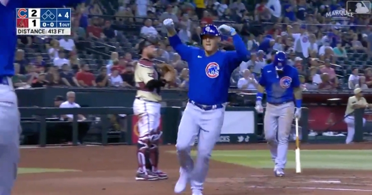 Anthony Rizzo has now hit 239 home runs as a Cub and is tied with former third baseman Aramis Ramirez for sixth on the Cubs' all-time homer leaderboard.