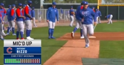 WATCH: Hilarious Mic'd up with Anthony Rizzo