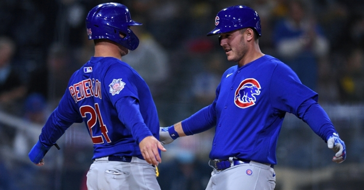 Rizzo and Pederson win against the Cubs (Orlando Ramirez - USA Today Sports)