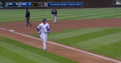 "WATCH: ""Big Rizz"" goes yard again with leadoff bomb"