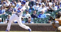 Anthony Rizzo collects three hits as Cubs sweep Padres