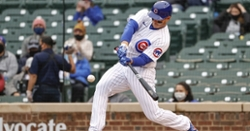Cubs score four in first, go on to beat Dodgers 7-1