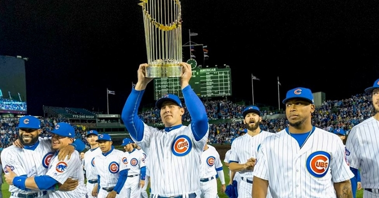 Rizzo helped the Cubs break their title curse