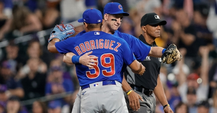 Rodriguez registered his first MLB save (Isaiah Downing - USA Today Sports)