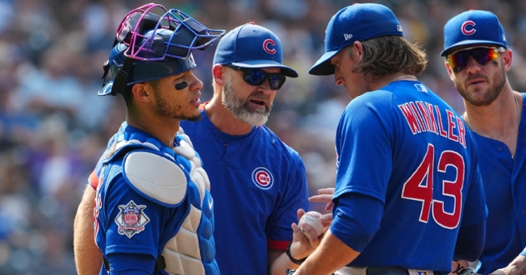 The Cubs hope to finish the season strong (Ron Chenoy - USA Today Sports)