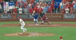 WATCH: Cardinals blow another save as Eric Sogard hits game-tying double