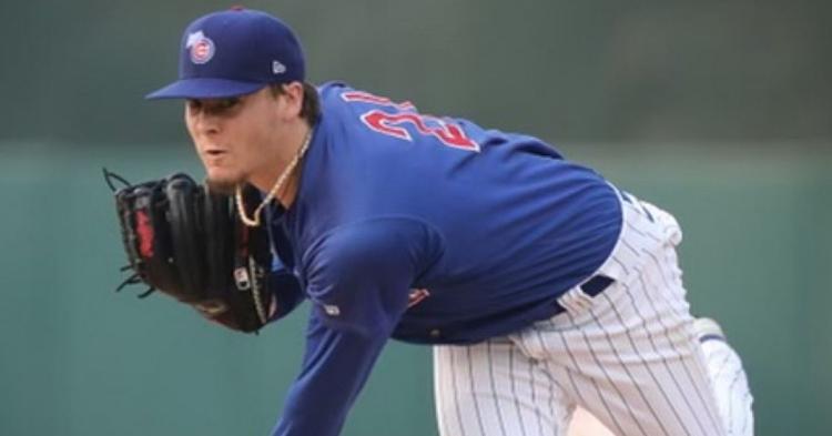 Steele is a key piece of the Cubs future (Photo via Iowa Cubs)