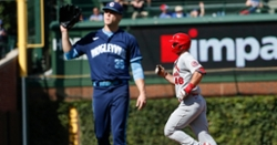 Cubs lose to rival Cardinals in game one of doubleheader