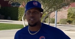 "Pedro Strop on re-signing with Cubs: ""I'm just so happy to be back"""