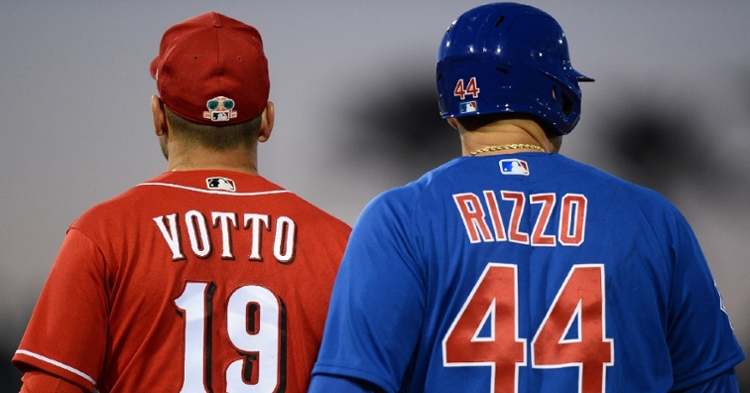 Votto and Rizzo are two of MLB's stars (Joe Camporeale - USA Today Sports)