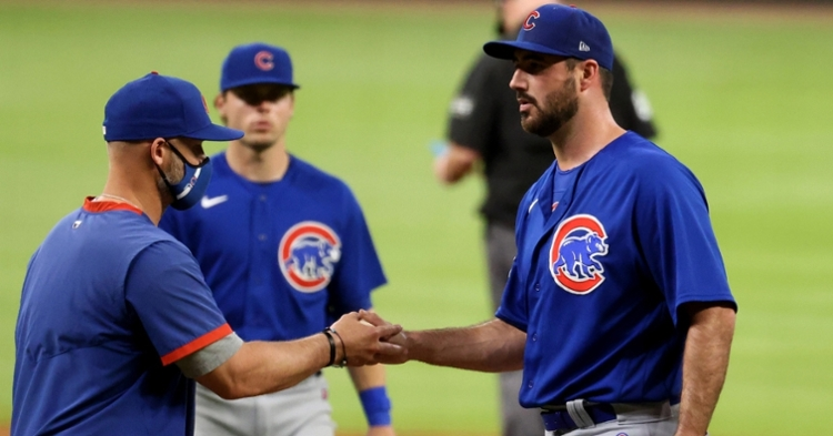 Workman no longer works for the Cubs (Jason Getz - USA Today Sports)