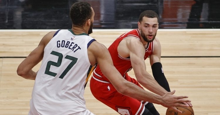 The Jazz were too much for LaVine and Co. (Kamil Krzaczynski - USA Today Sports)