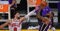 Zach Lavine drops game-high 38 in tight loss to Lakers