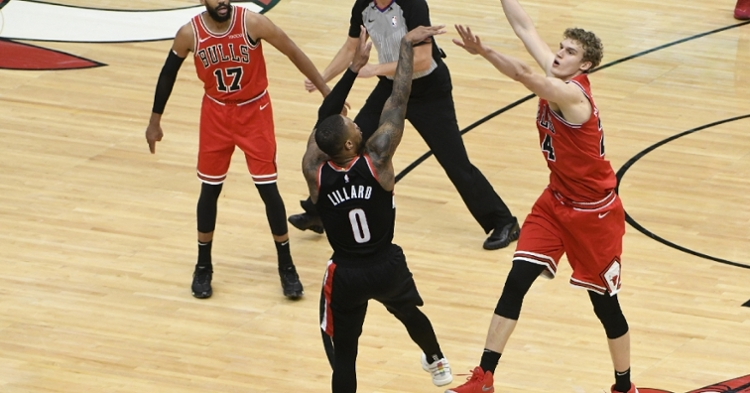 Lillard was clutch in the final seconds (David Banks - USA Today Sports)