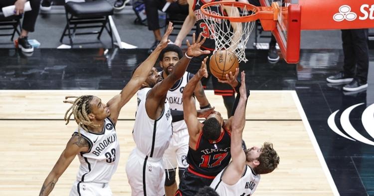 Bulls lost to the Nets (Kamil Krzaczynski - USA Today Sports)