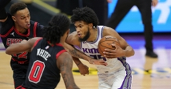 Coby White drops career-high 36 points in loss to Kings