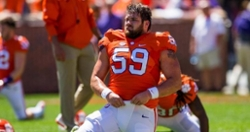 Former Clemson offensive lineman signs with Bears