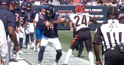 WATCH: Andy Dalton leaves game with non-contact injury
