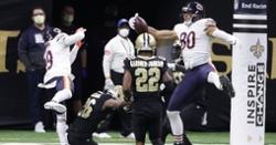 Hibernation season: Bears' season ends with playoff loss to Saints