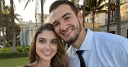 Mitch Trubisky engaged to girlfriend Hillary Gallagher