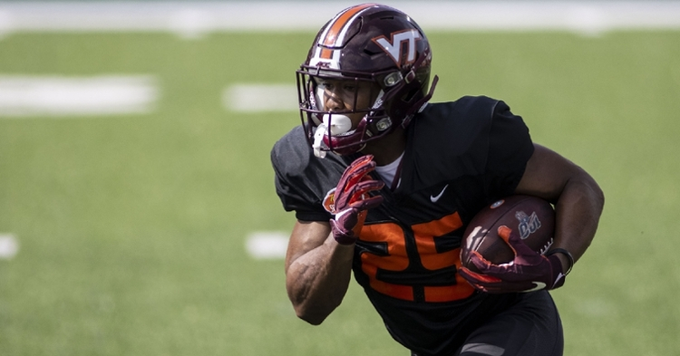 Khalil Herbert is an intriguing RB for the Bears (Vasha Hunt - USA Today Sports)