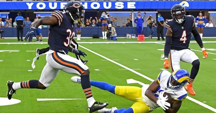 The Bears secondary had a tough night (Jayne Kamin Oncea - USA Today Sports)