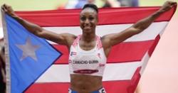Jasmine Camacho-Quinn, sister of Robert Quinn, wins gold medal at Olympics