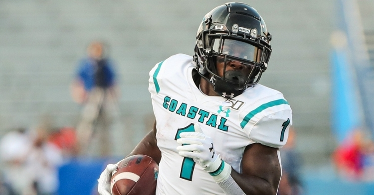 Marable is a talented running back (Jay Biggerstraff - USA Today Sports)