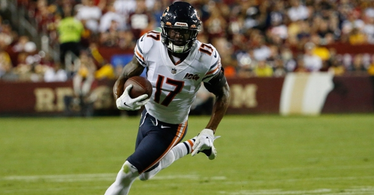 In 47 regular season appearances as a Bear, Anthony Miller totaled 134 receptions for 1,564 yards and 11 touchdowns. (Credit: Geoff Burke-USA TODAY Sports)