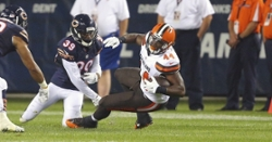 Former Chicago Bears CB arrested on human trafficking complaint