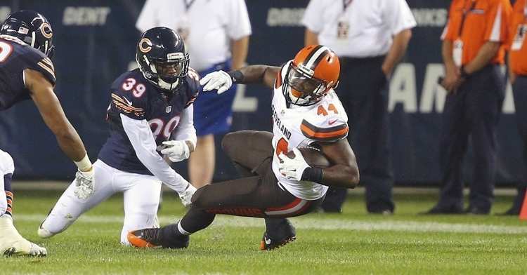 Black played with the Bears during the 2015 season (Dennis Wierzbicki - USA Today Sports)