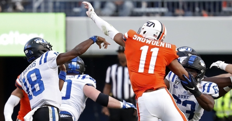 Snowden was a big-time defender at Virginia (Geoff Burke - USA Today Sports)