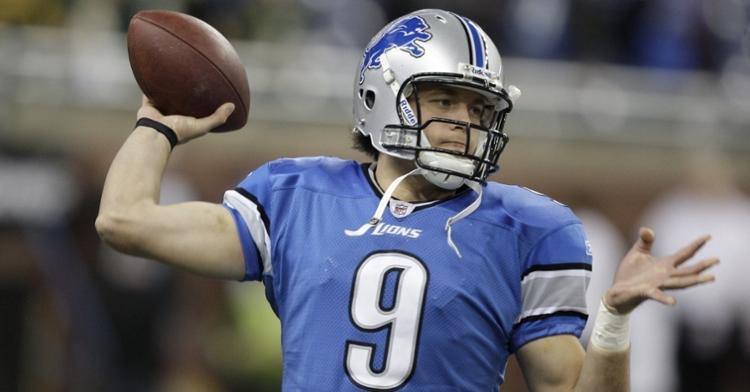 Stafford is a solid quarterback (Julian Gonzalez - Detroit Free Press)