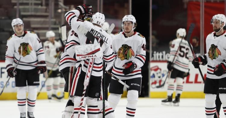 Blackhawks won again in overtime (Raj Mehta - USA Today Sports)