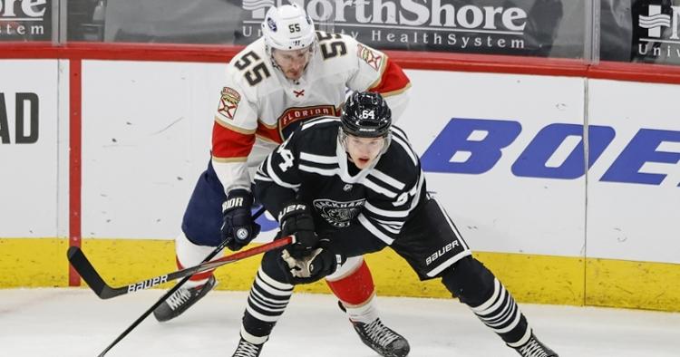 Blackhawks with the narrow loss (Kamil Krzaczynski - USA Today Sports)