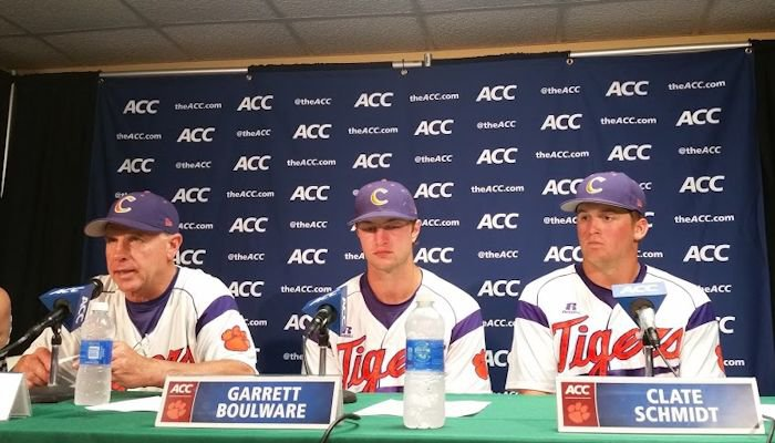 Jack Leggett's postgame press conference after Clemson's loss to Georgia Tech