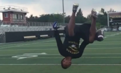 Clemson offers 2017 DB with famous one-handed backflip catch
